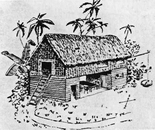 Gauguins-Haus