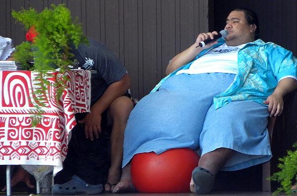 Beine-auf-Hawaii