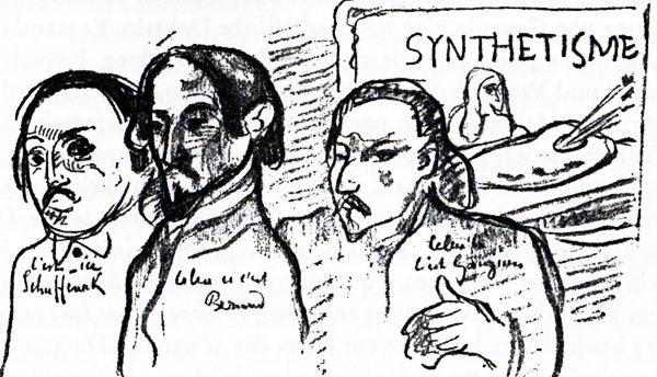 Schuffenecker-Bernard-Gauguin
