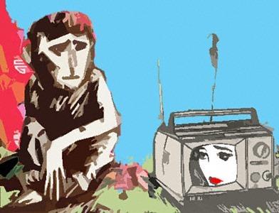 TV-Affe