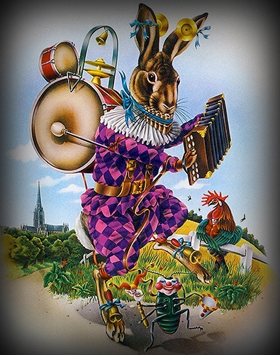 Harlequin-Hare