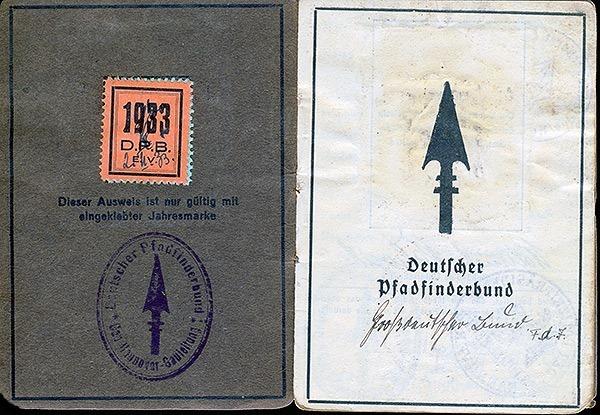 Pfadfinder-Ausweis