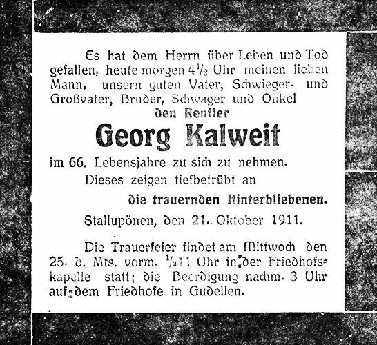 Todesanzeige-Georg-Kalweit