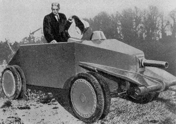 amerik.-Kleinkampfwagen