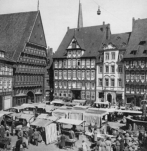 Marktplatz-Hildesheim-vorher