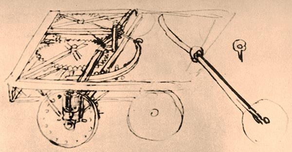 Karren-Zeichnung